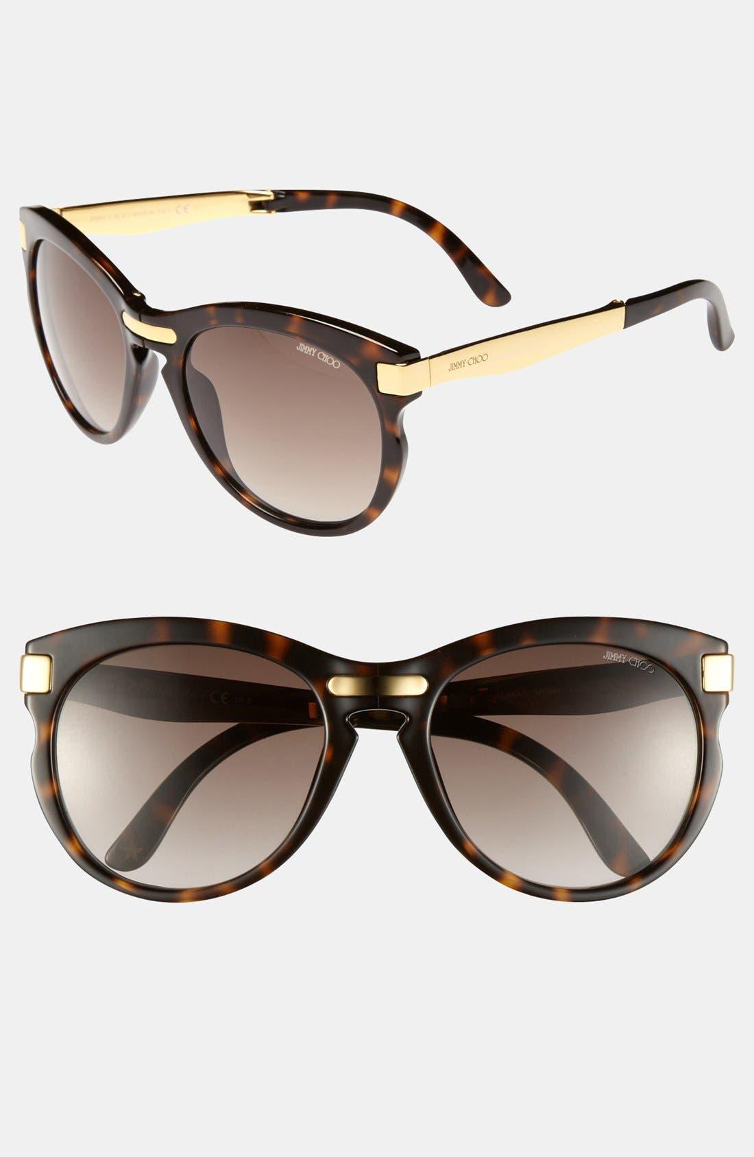 Main Image - Jimmy Choo 'Lanas' 55mm Sunglasses