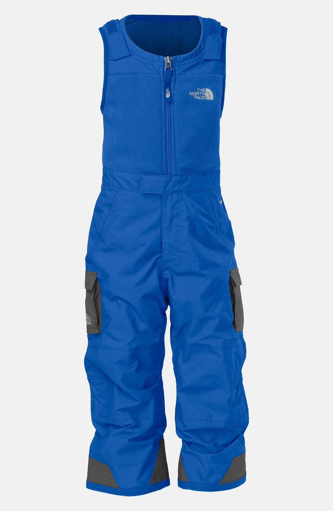 Main Image - The North Face 'Snowdrift' Insulated Bib Overalls (Toddler Boys)