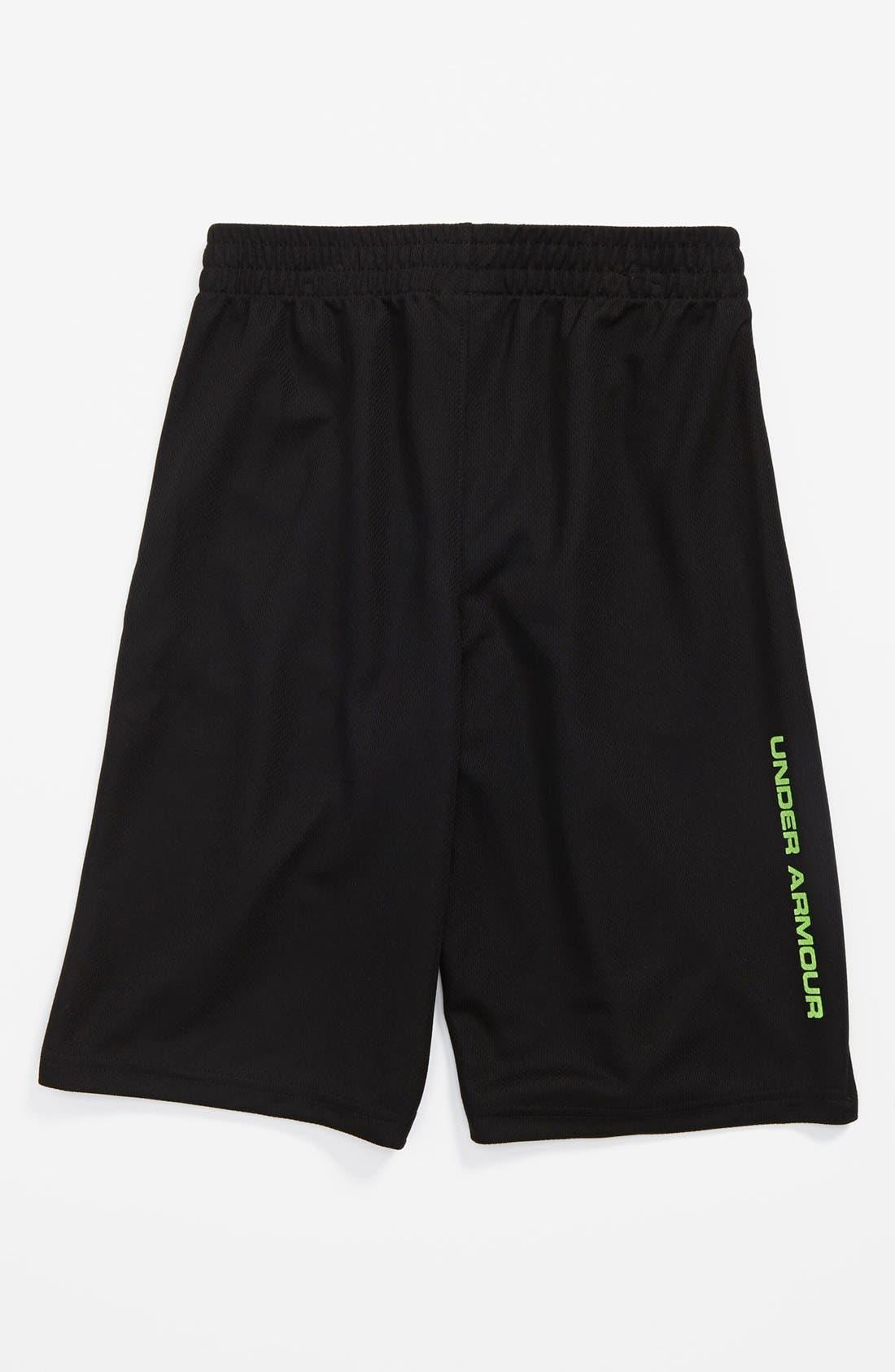 Alternate Image 2  - Under Armour 'Monster Mesh' HeatGear® Shorts (Little Boys)