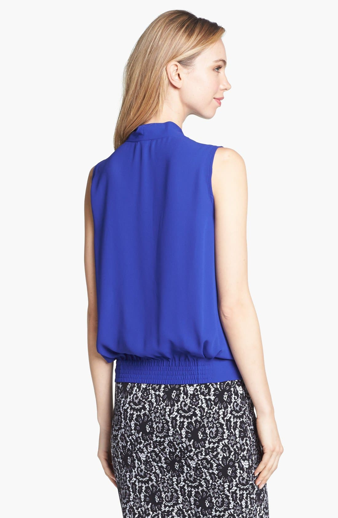 Alternate Image 3  - Vince Camuto Sleeveless Faux Wrap Top