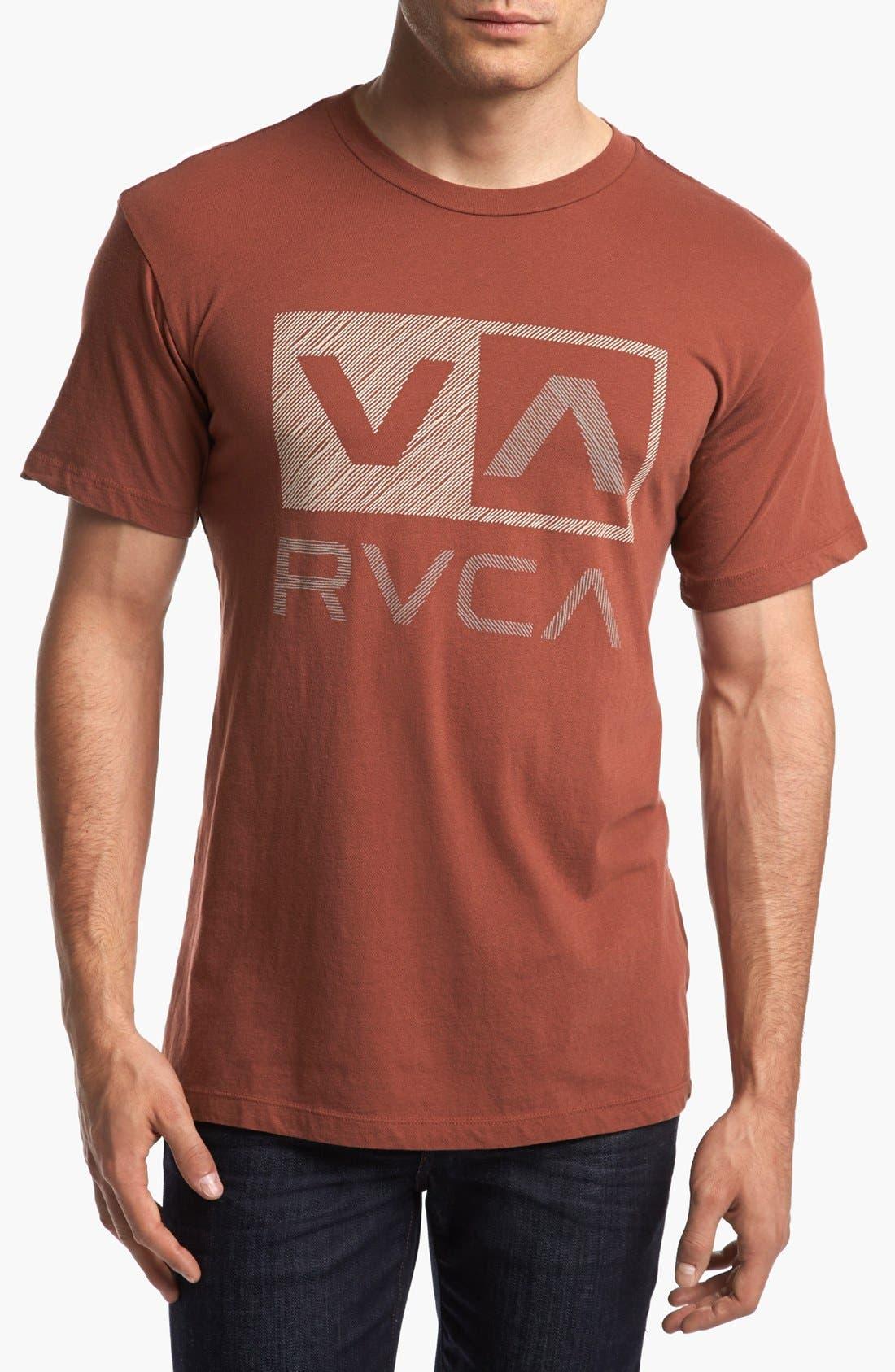 Alternate Image 1 Selected - RVCA 'Sketch Box' T-Shirt