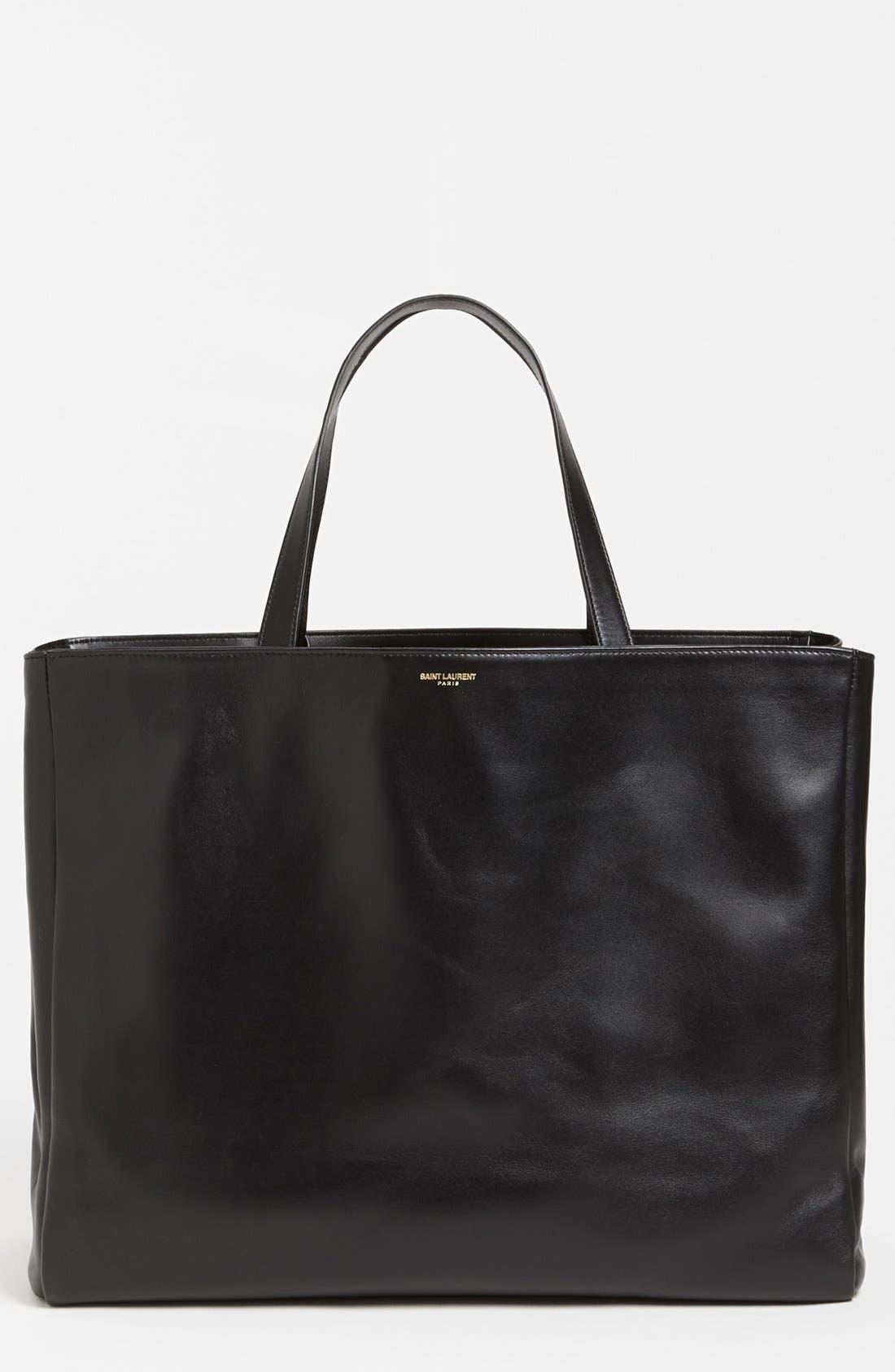 Main Image - Saint Laurent Leather Tote, Large