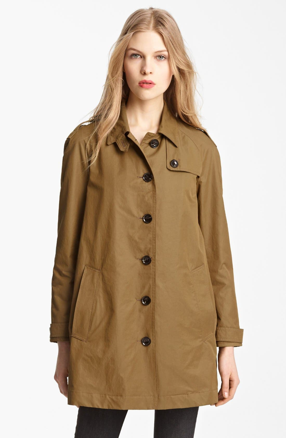 Alternate Image 4  - Burberry Brit 'Eminford' Trench Coat (Online Only)
