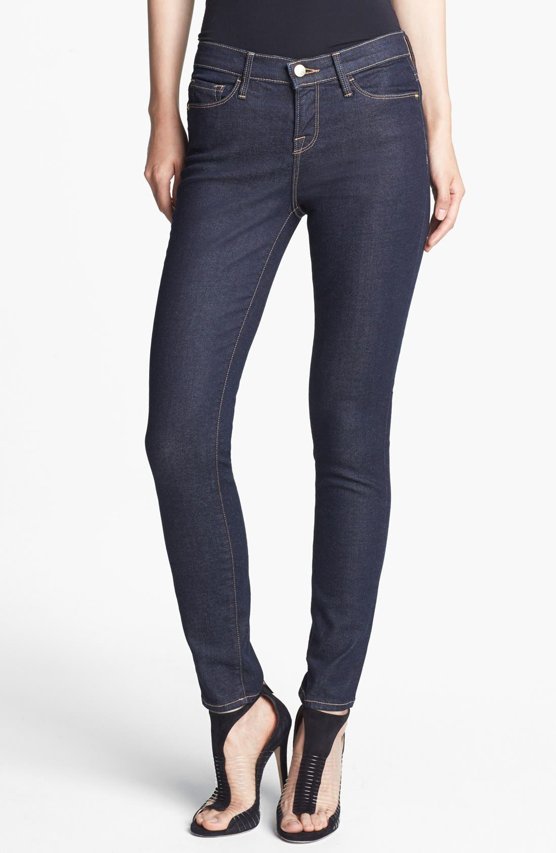 Alternate Image 1 Selected - Frame Denim 'Le Skinny de Jeanne' Jeans