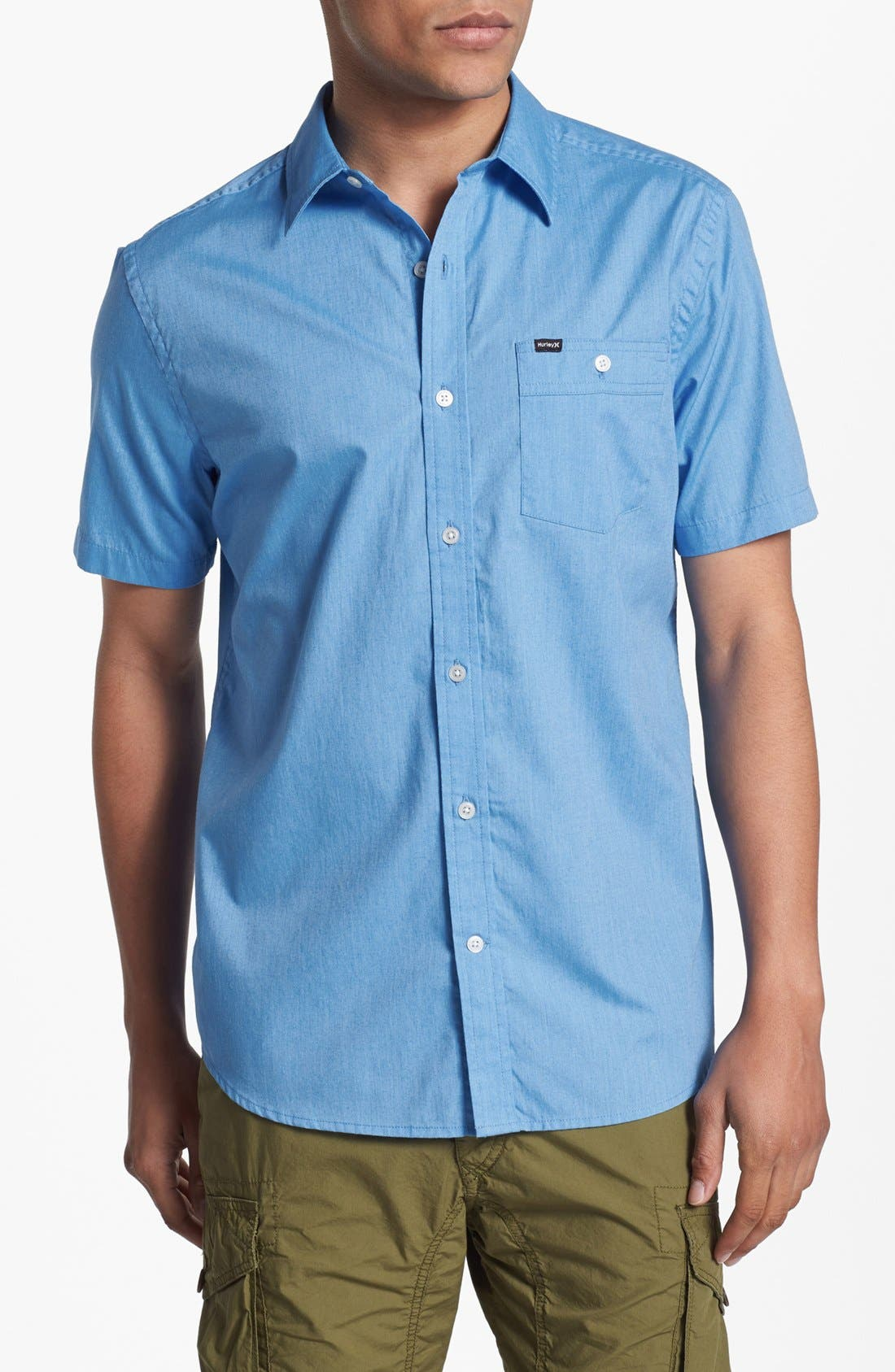 Alternate Image 1 Selected - Hurley 'Rise' Woven Shirt