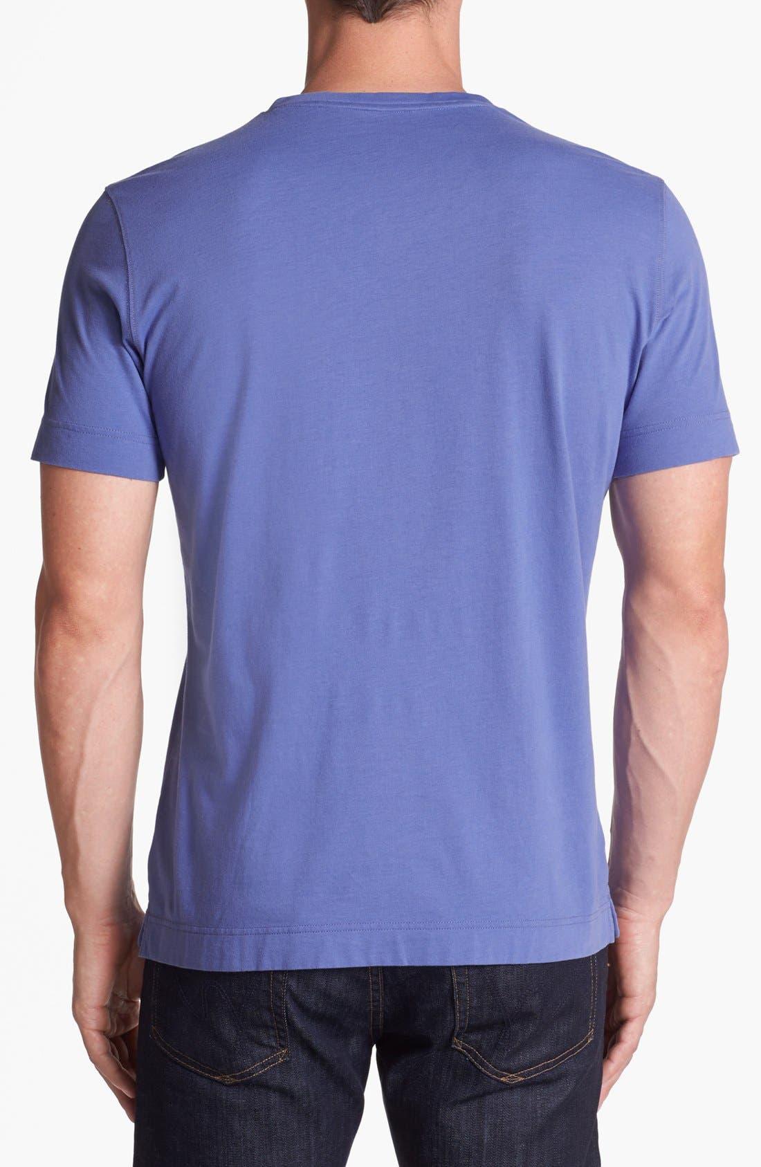 Alternate Image 2  - Robert Barakett 'Adam' Double V-Neck T-Shirt