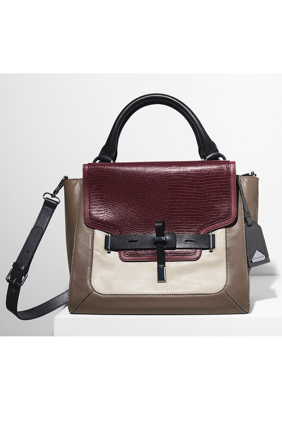 Alternate Image 6  - Vince Camuto 'Max' Leather Satchel, Medium