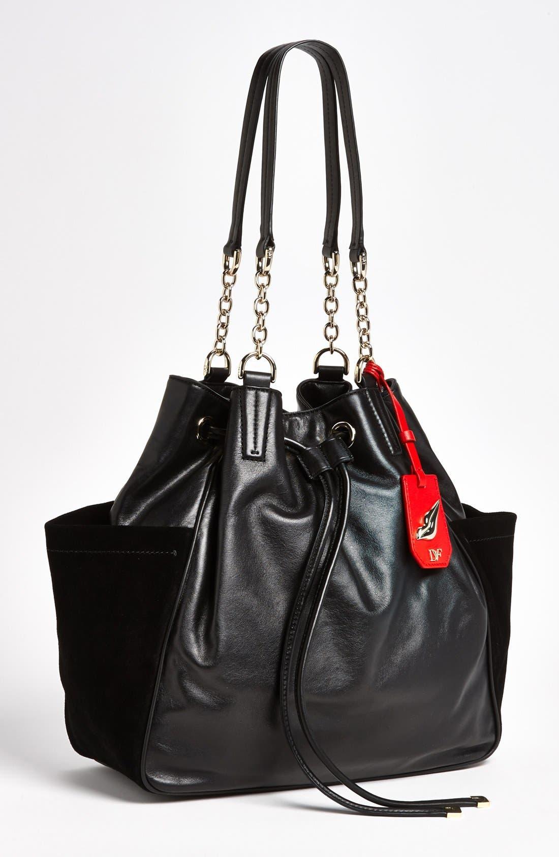 Main Image - Diane von Furstenberg 'Sydney' Leather Tote