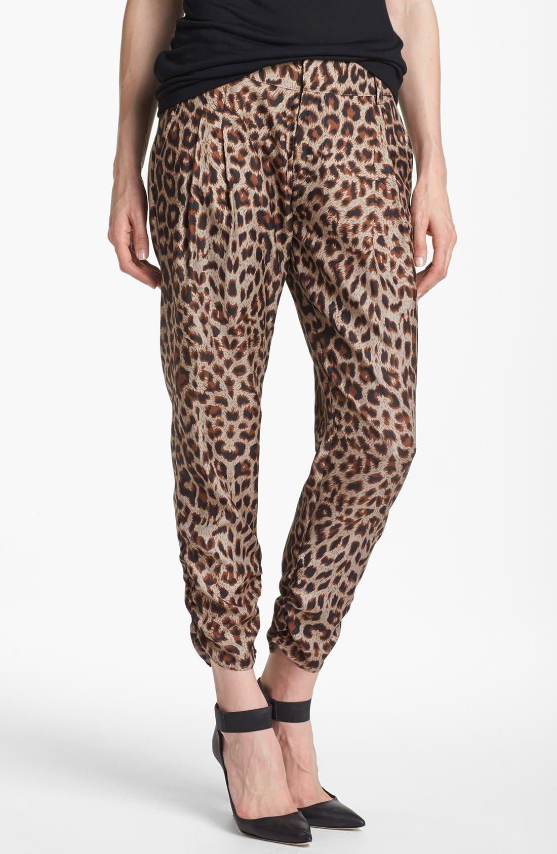 Main Image - Devlin Pleated High Waist Pants