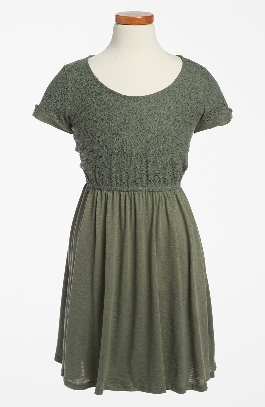 Alternate Image 1 Selected - Splendid Lace Dress (Big Girls)