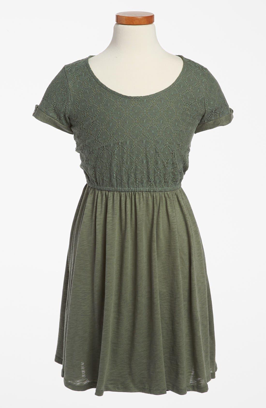 Main Image - Splendid Lace Dress (Big Girls)
