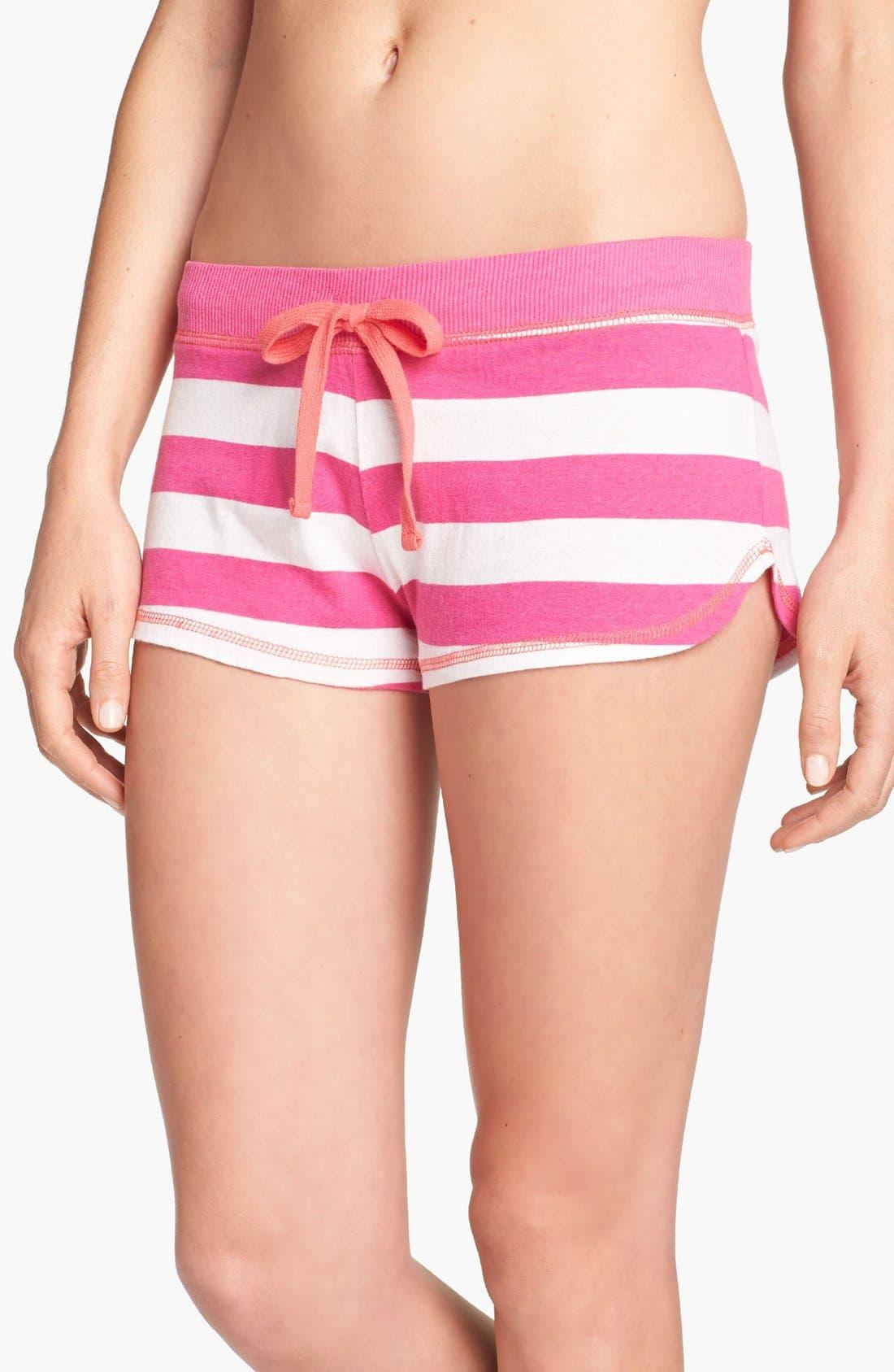 Alternate Image 1 Selected - COZY ZOE Stripe Shorts