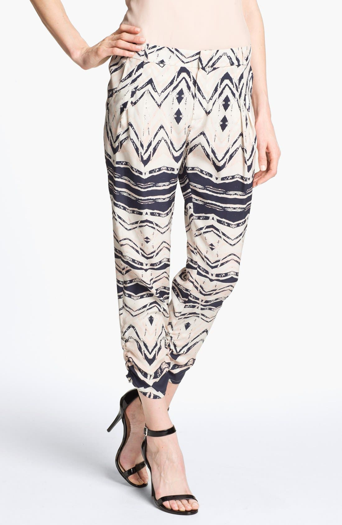 Alternate Image 1 Selected - Parker 'Devlin' Silk Pants