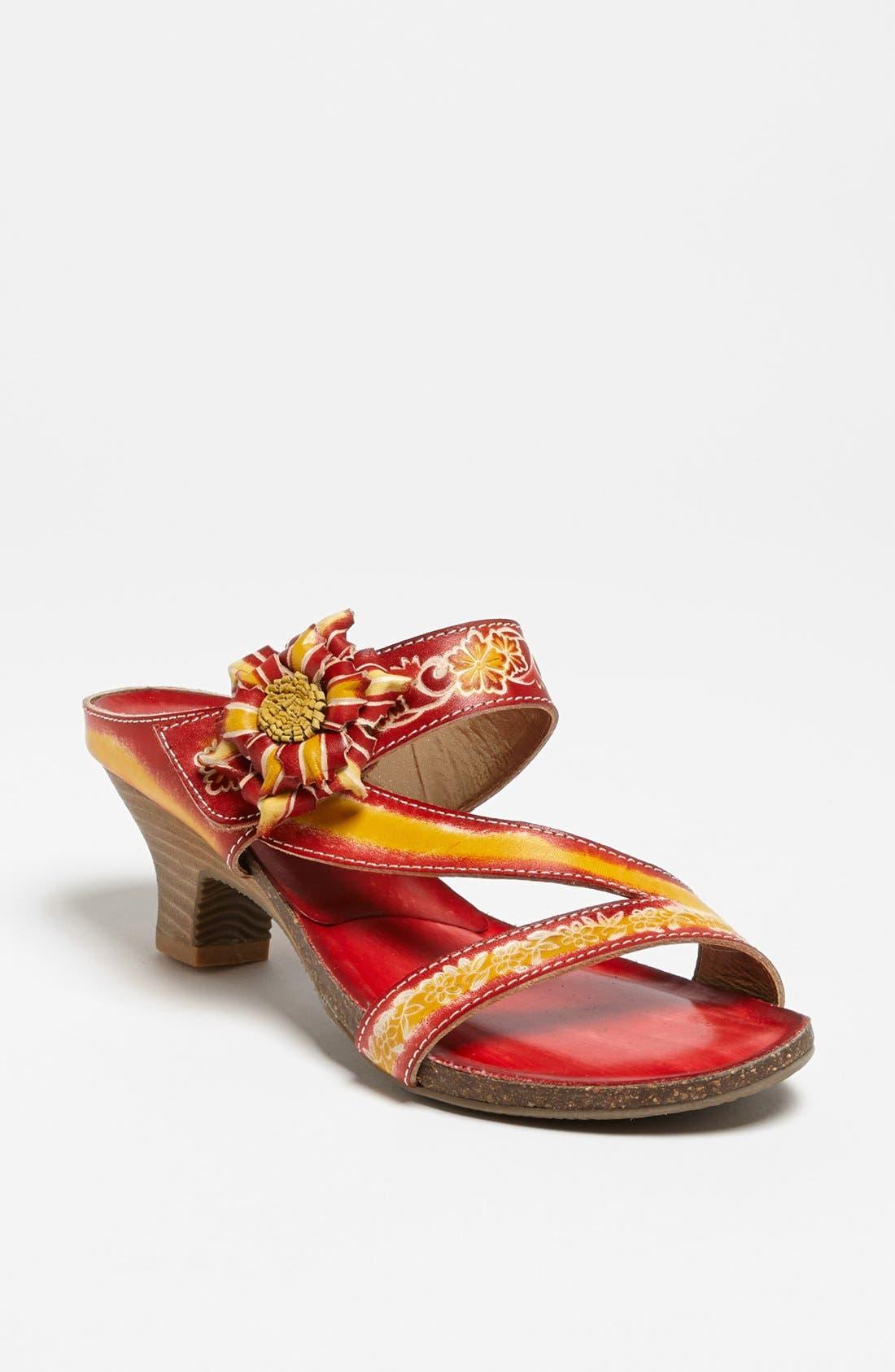 Alternate Image 1 Selected - Spring Step 'Amethyst' Sandal