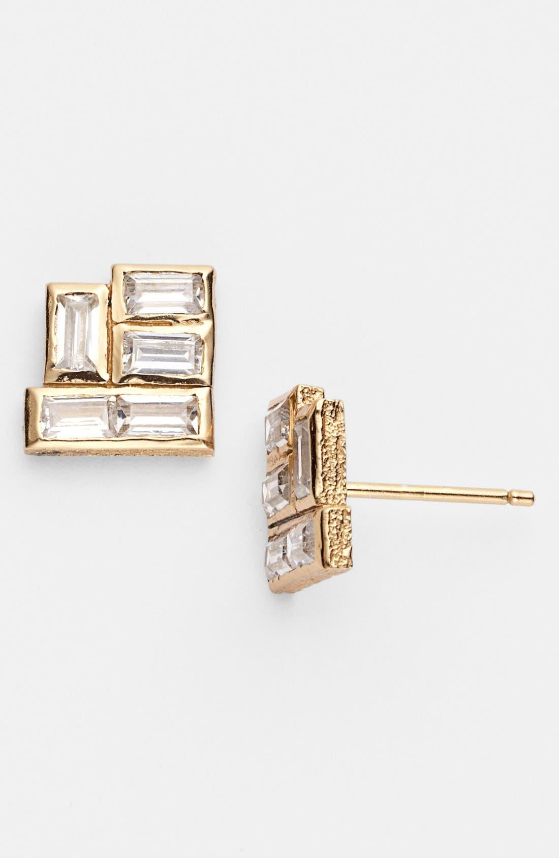 Main Image - Melinda Maria 'Pyramid - Olivia' Stud Earrings
