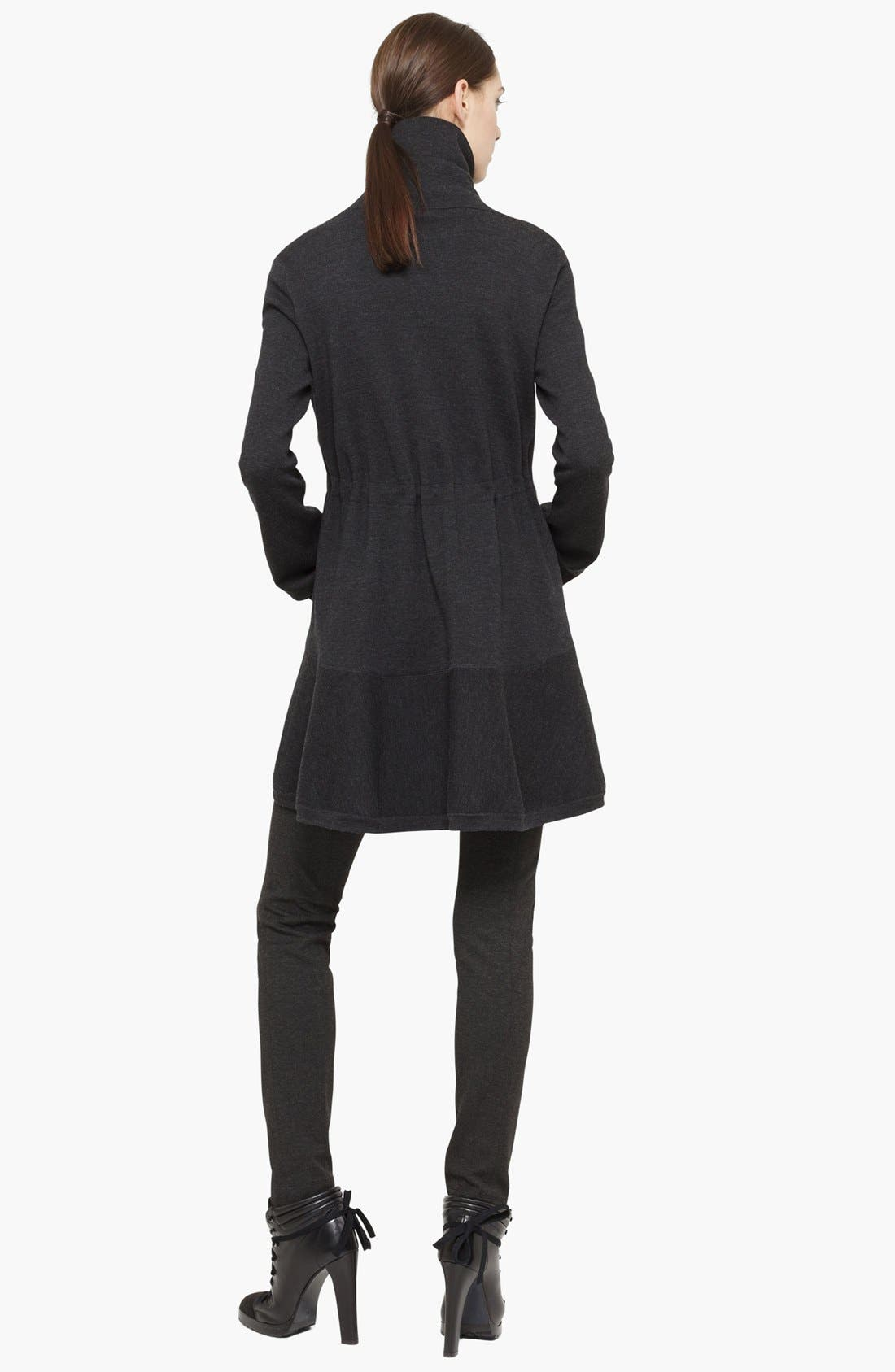 Alternate Image 2  - Akris punto Wool Knit Coat