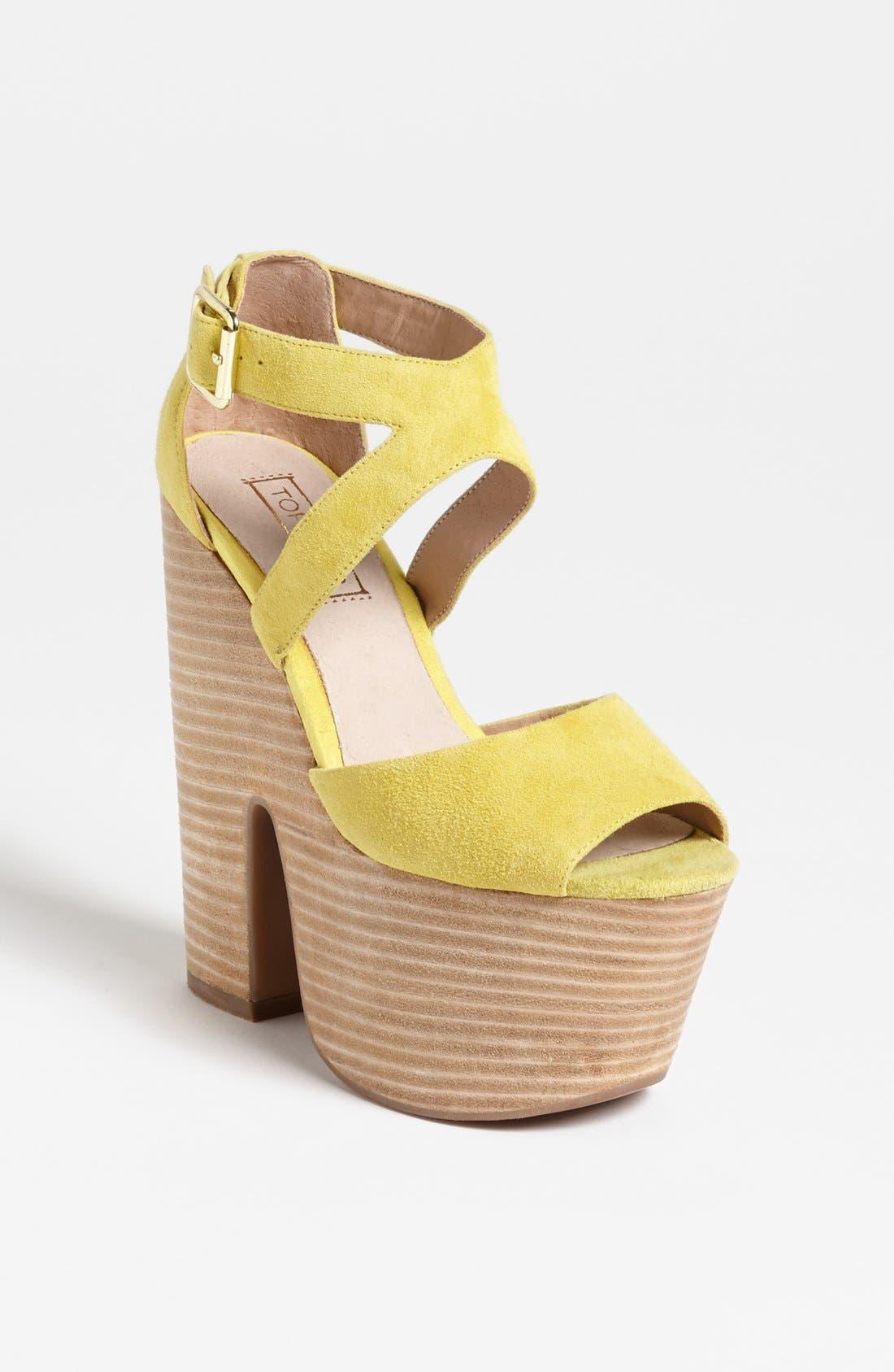 Alternate Image 1 Selected - Topshop 'Laci' Sandal