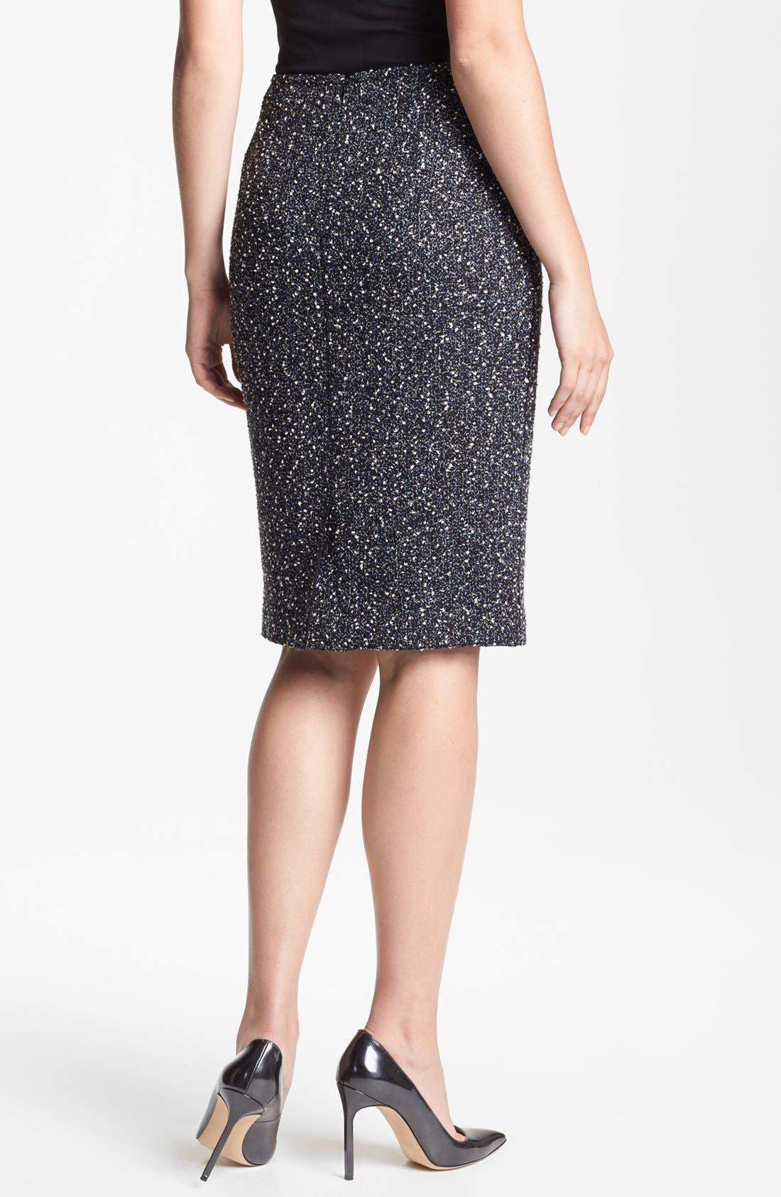 Alternate Image 2  - Lafayette 148 New York 'Aviana' Odyssey Tweed Skirt