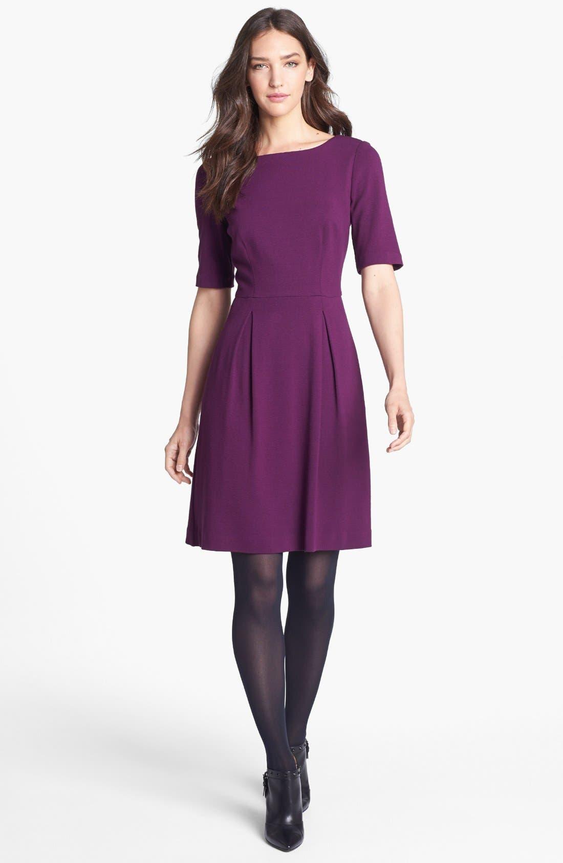Alternate Image 1 Selected - Trina Turk Ponte Knit A-Line Dress