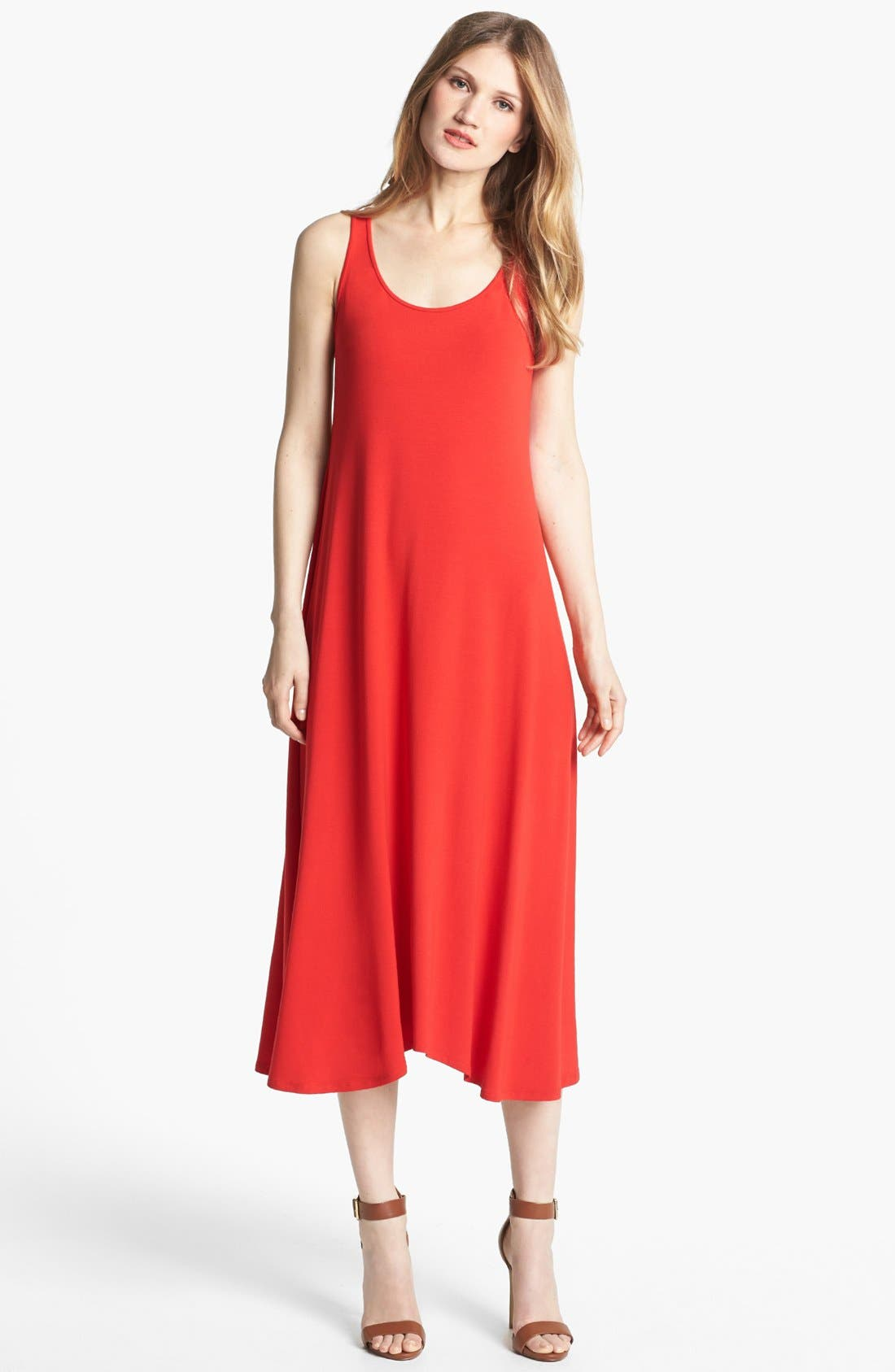 Alternate Image 1 Selected - Eileen Fisher Jersey Maxi Dress