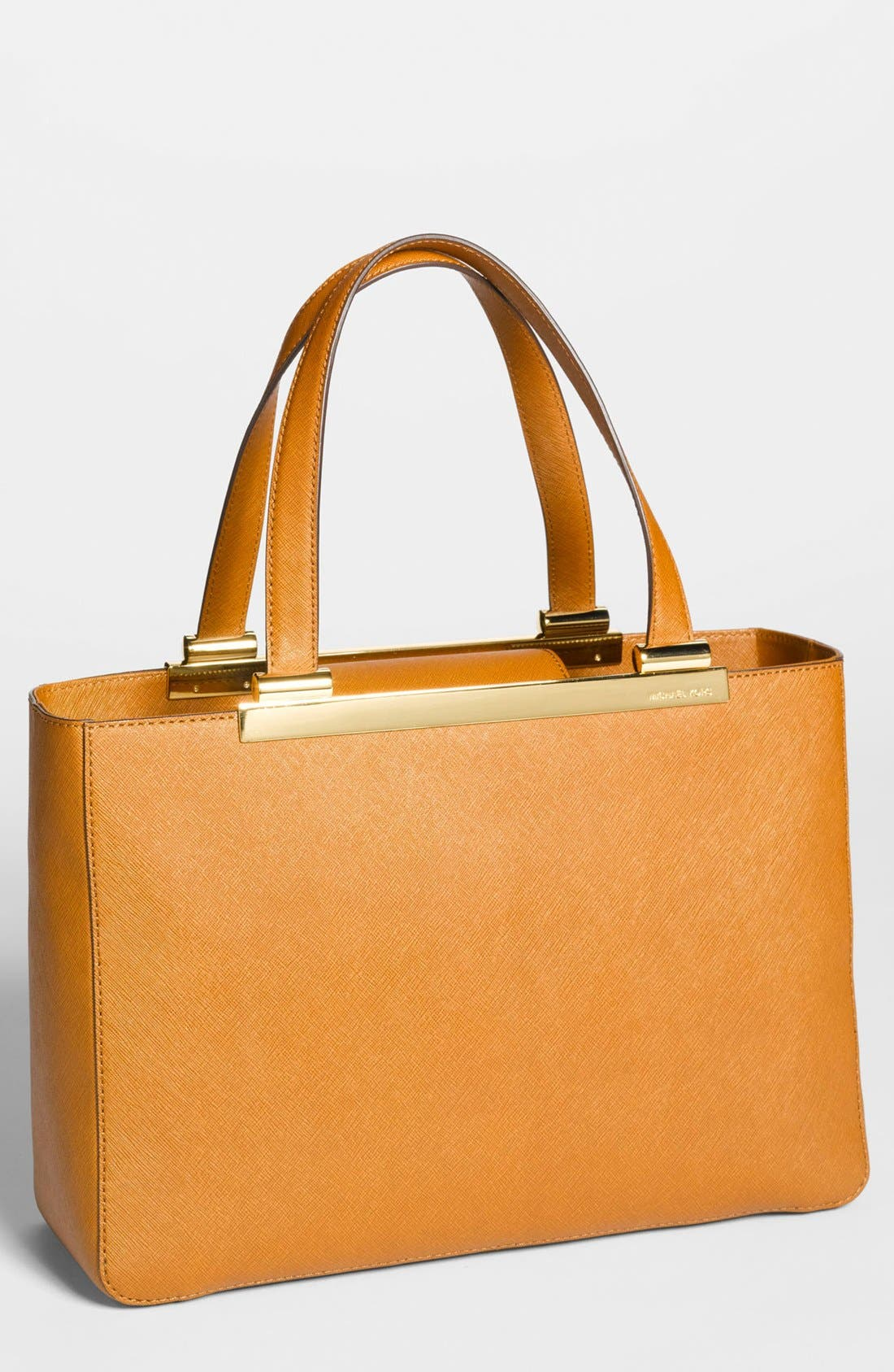 Main Image - MICHAEL Michael Kors 'Tilda - Large' Saffiano Leather Tote (Online Only)
