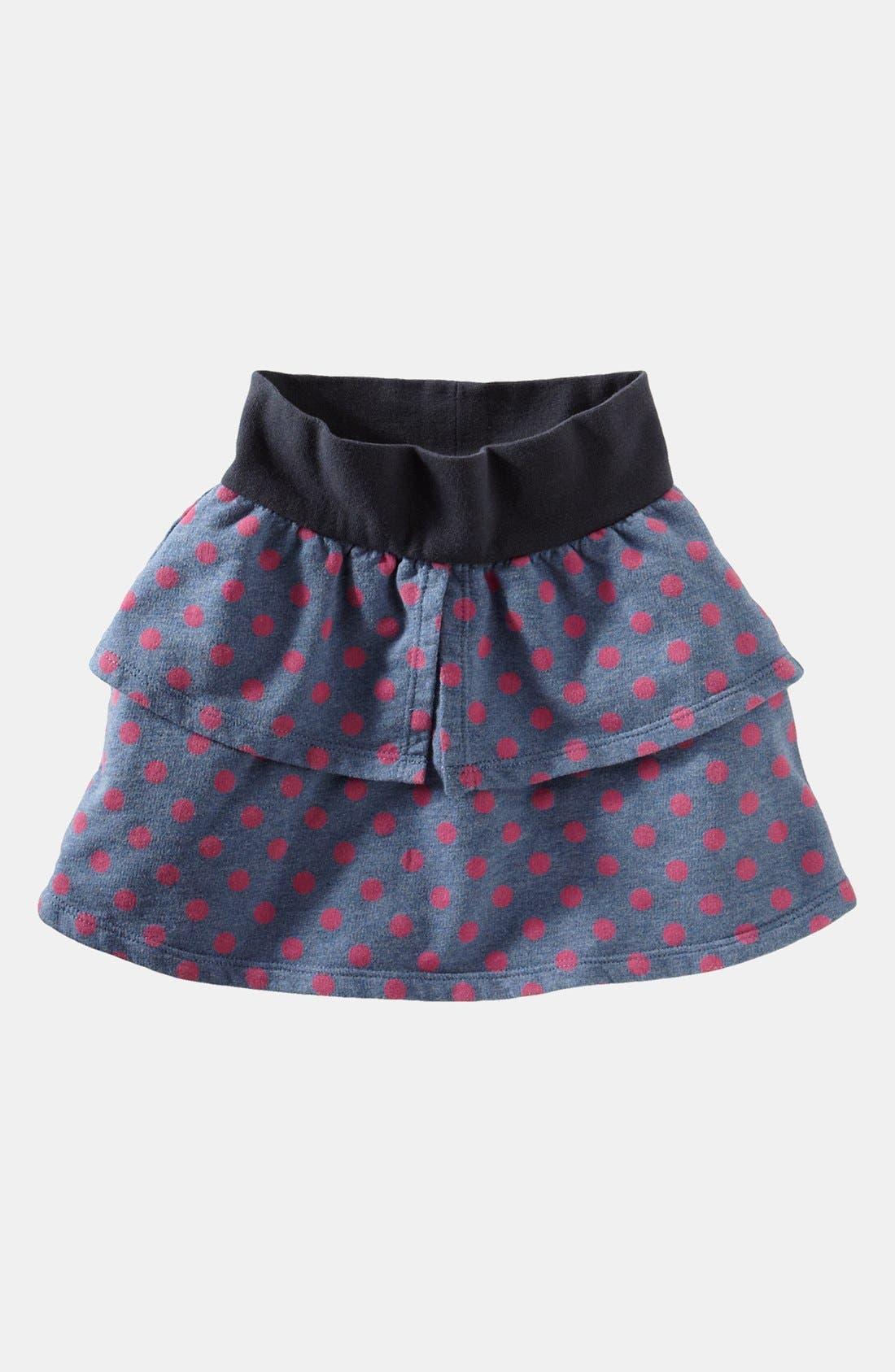 Alternate Image 1 Selected - Tea Collection 'Dancing Dot' Miniskirt (Toddler Girls, Little Girls & Big Girls)