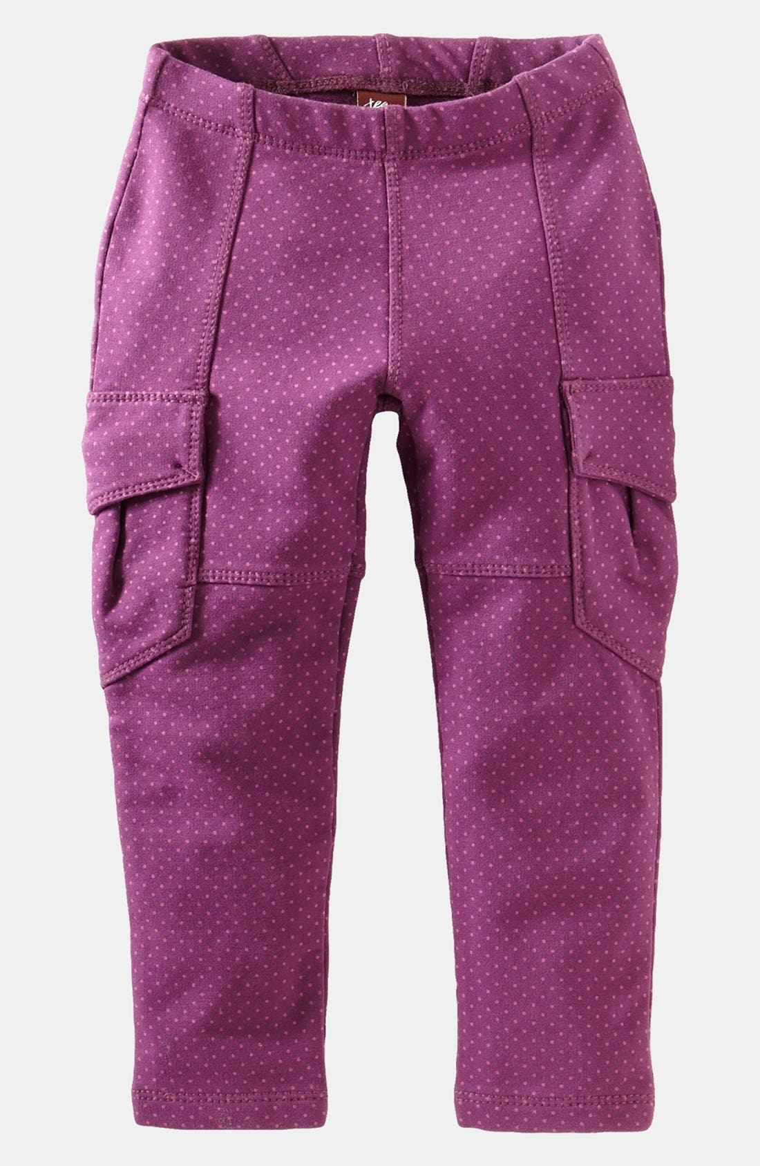 Alternate Image 1 Selected - Tea Collection 'Pin Dot' Cargo Pants (Toddler Girls, Little Girls & Big Girls)