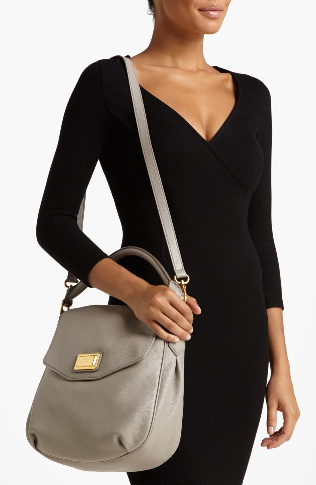 Alternate Image 3  - MARC BY MARC JACOBS Leather Flap Hobo