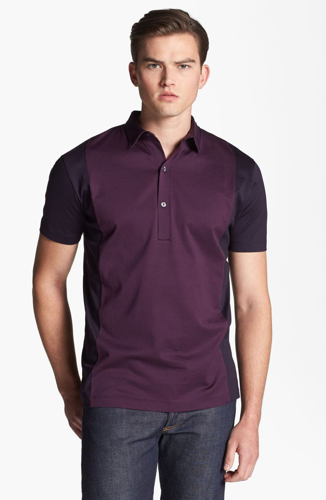 Alternate Image 1 Selected - PS Paul Smith Colorblock Polo