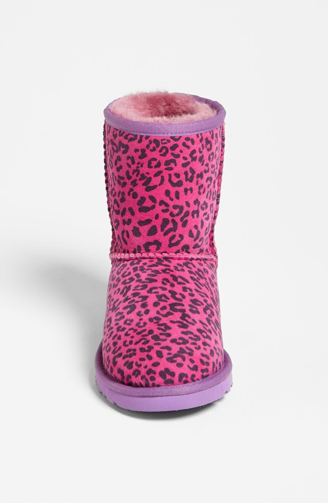 Alternate Image 3  - UGG® Australia Leopard Print Short Boot (Walker, Toddler, Little Kid & Big Kid)(Nordstrom Exclusive)