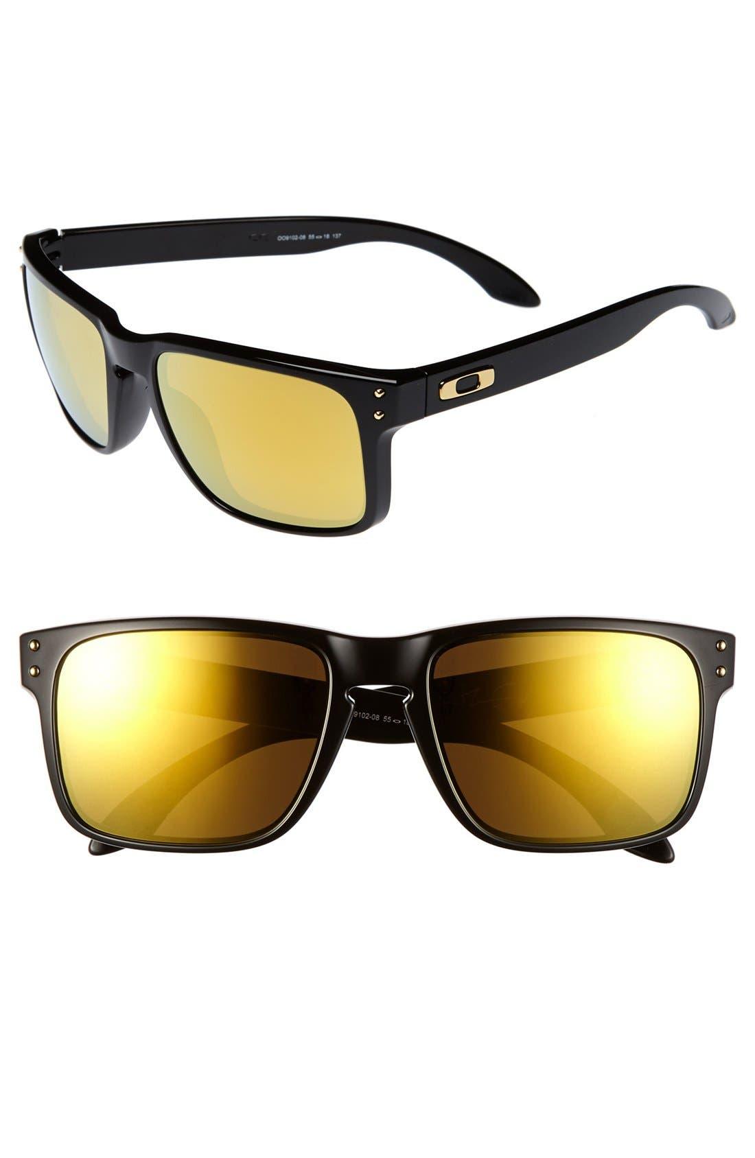 Alternate Image 1 Selected - Oakley 'Shaun White - Holbrook' 55mm Sunglasses