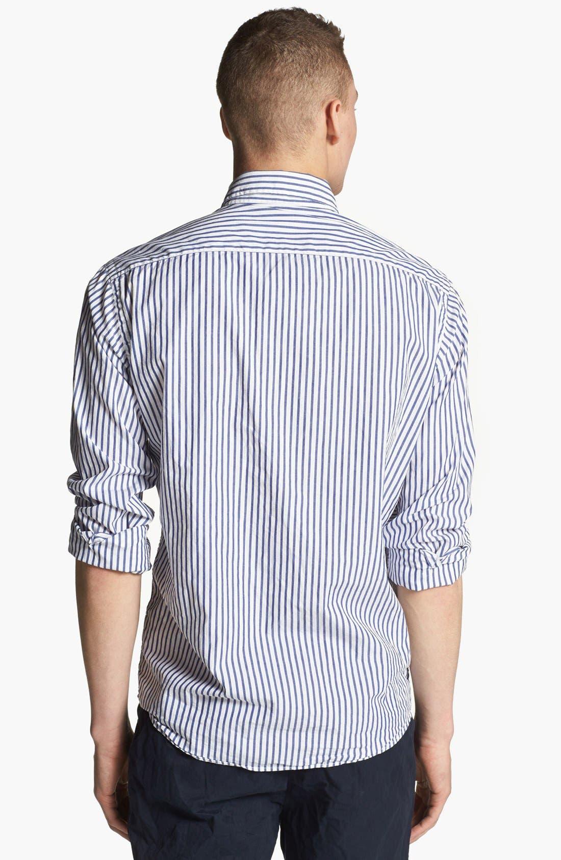 Alternate Image 2  - Save Khaki Stripe Woven Shirt
