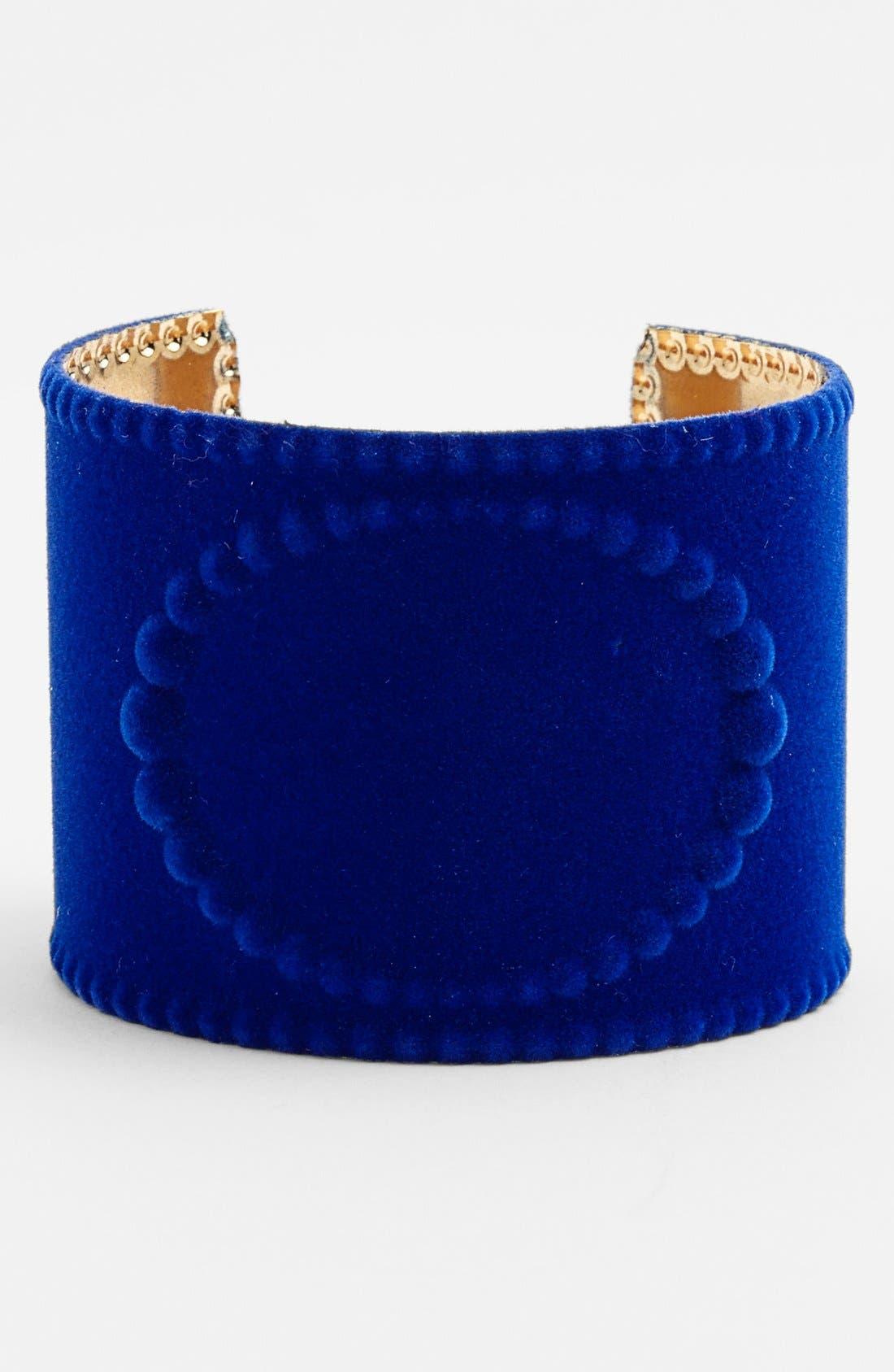 Alternate Image 1 Selected - Tildon Velvet Cuff