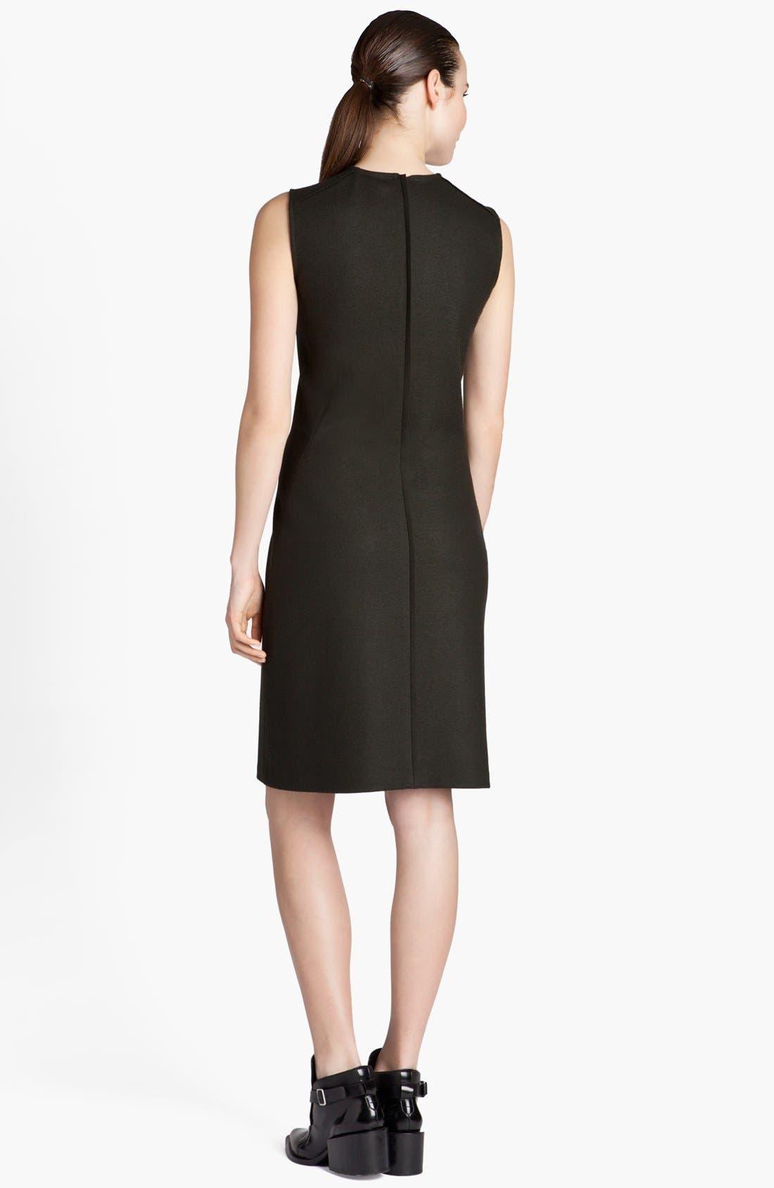 Alternate Image 2  - Jil Sander Sleeveless Wool Jersey Dress