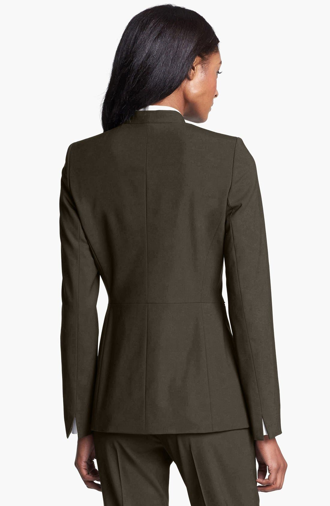 Alternate Image 2  - Lafayette 148 New York 'Livia' Stretch Wool Jacket