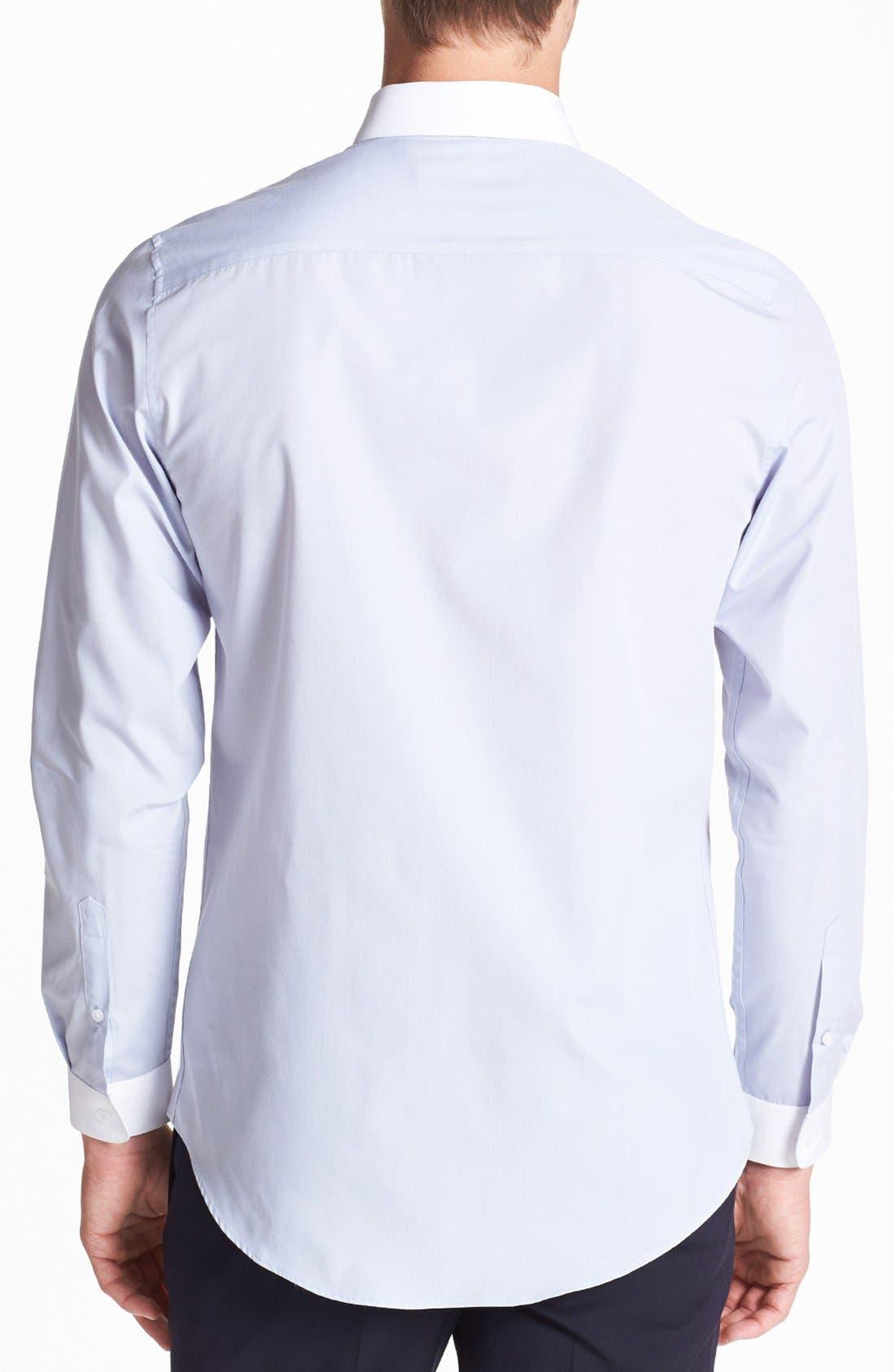 Alternate Image 2  - Topman Contrast Trim Shirt