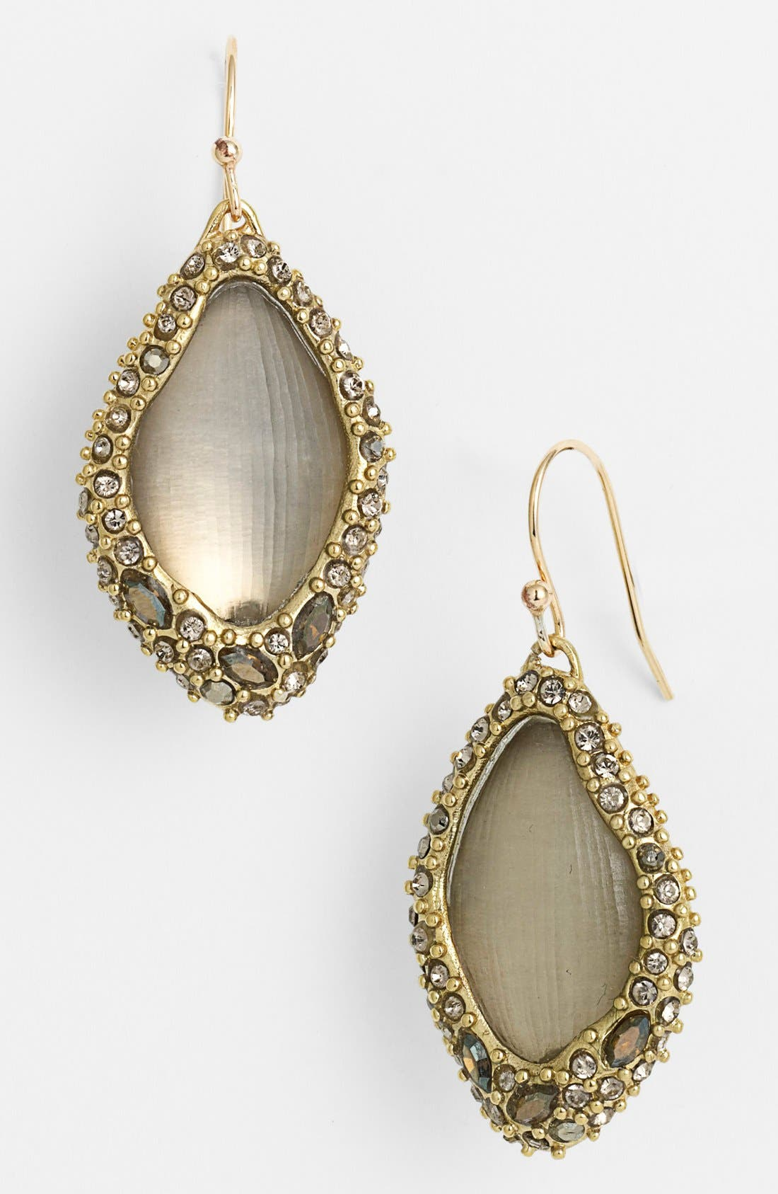 Alternate Image 1 Selected - Alexis Bittar 'Lucite® - Neo Bohemian' Pavé Encased Drop Earrings