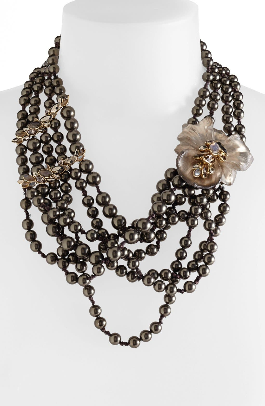 Alternate Image 1 Selected - Alexis Bittar 'Lucite® - Neo Bohemian' Statement Necklace