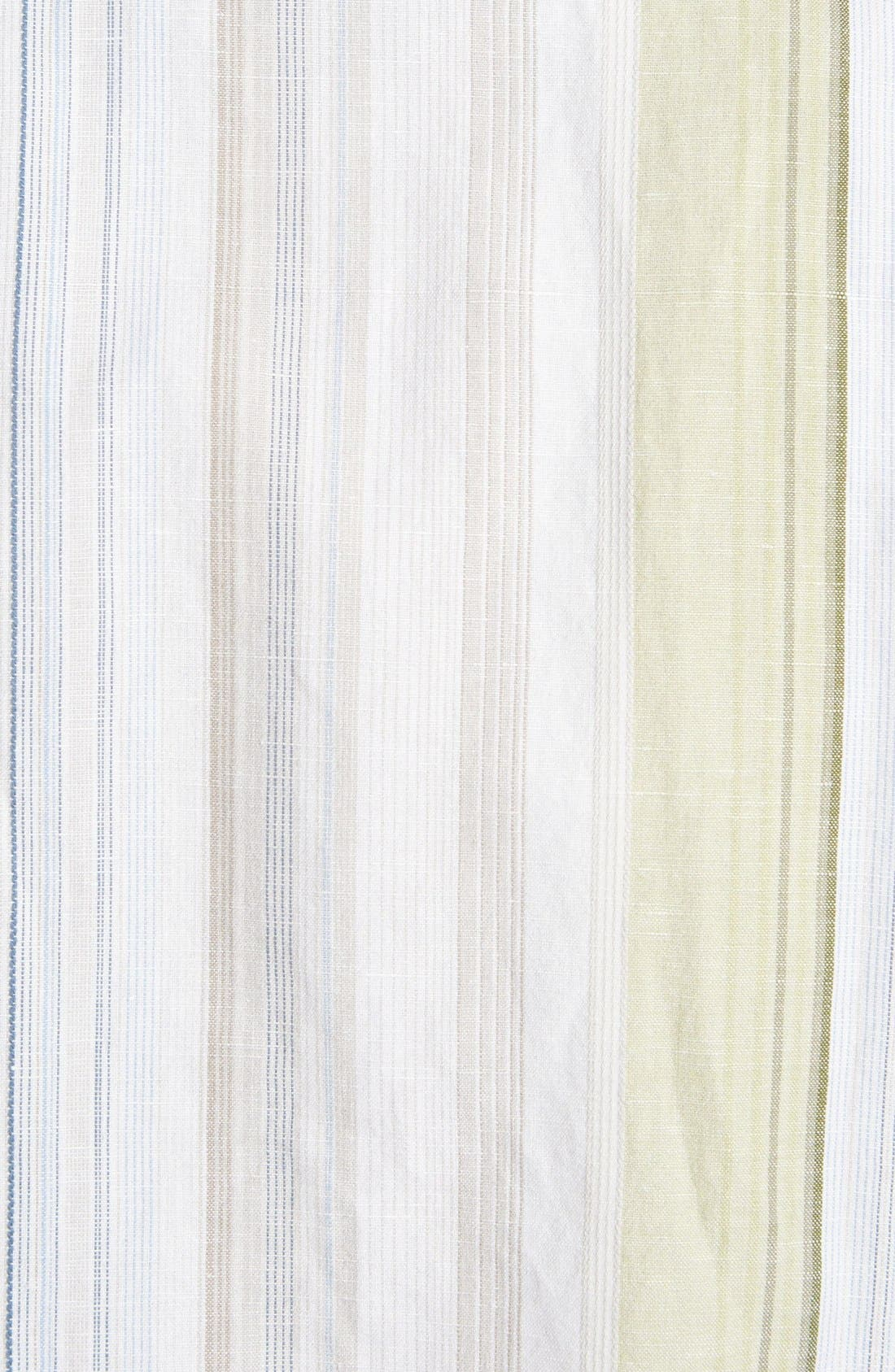 Alternate Image 3  - Tommy Bahama 'Tide Garden' Linen Blend Campshirt