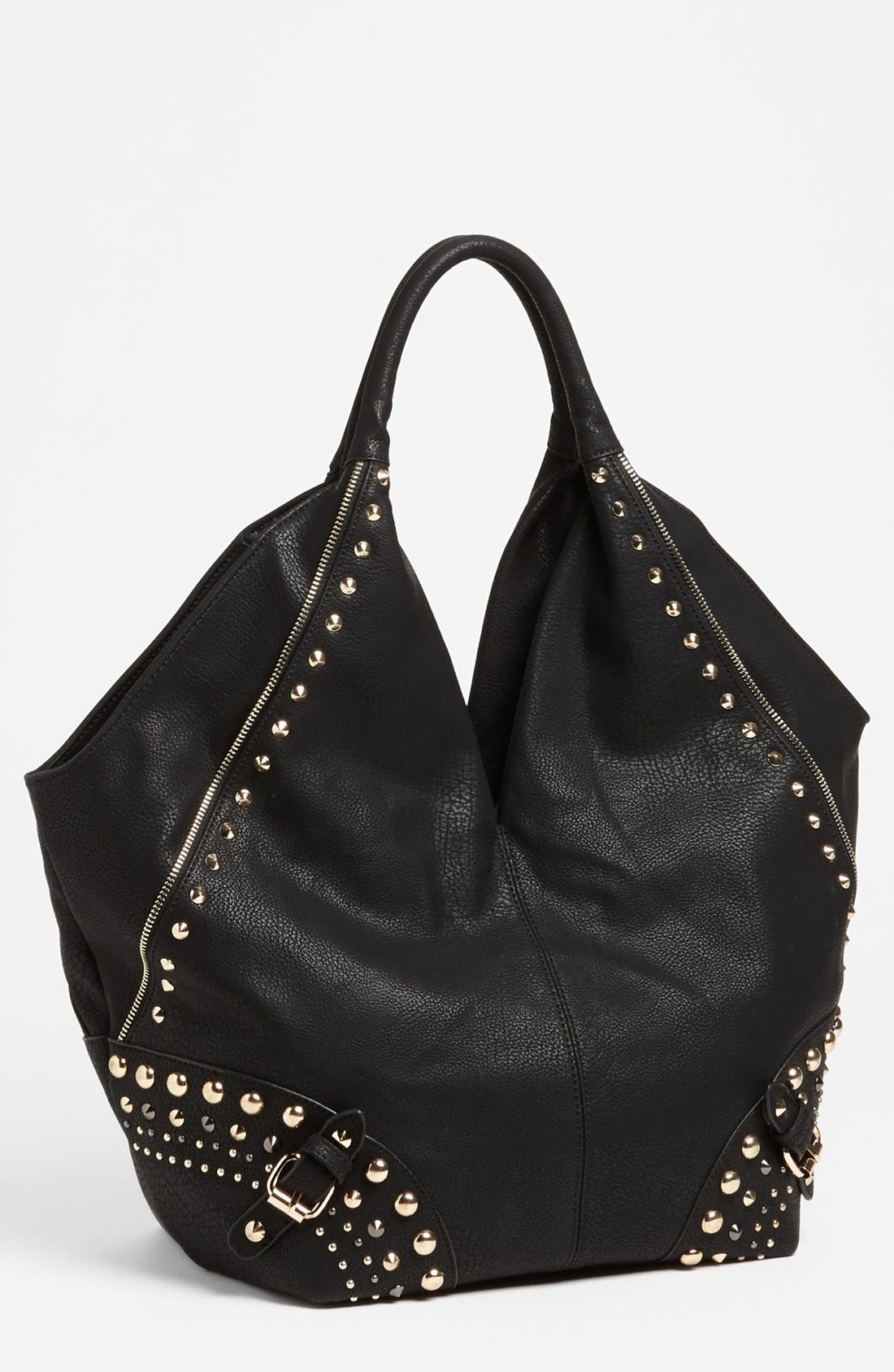 Alternate Image 1 Selected - Big Buddha 'Nikki' Studded Hobo