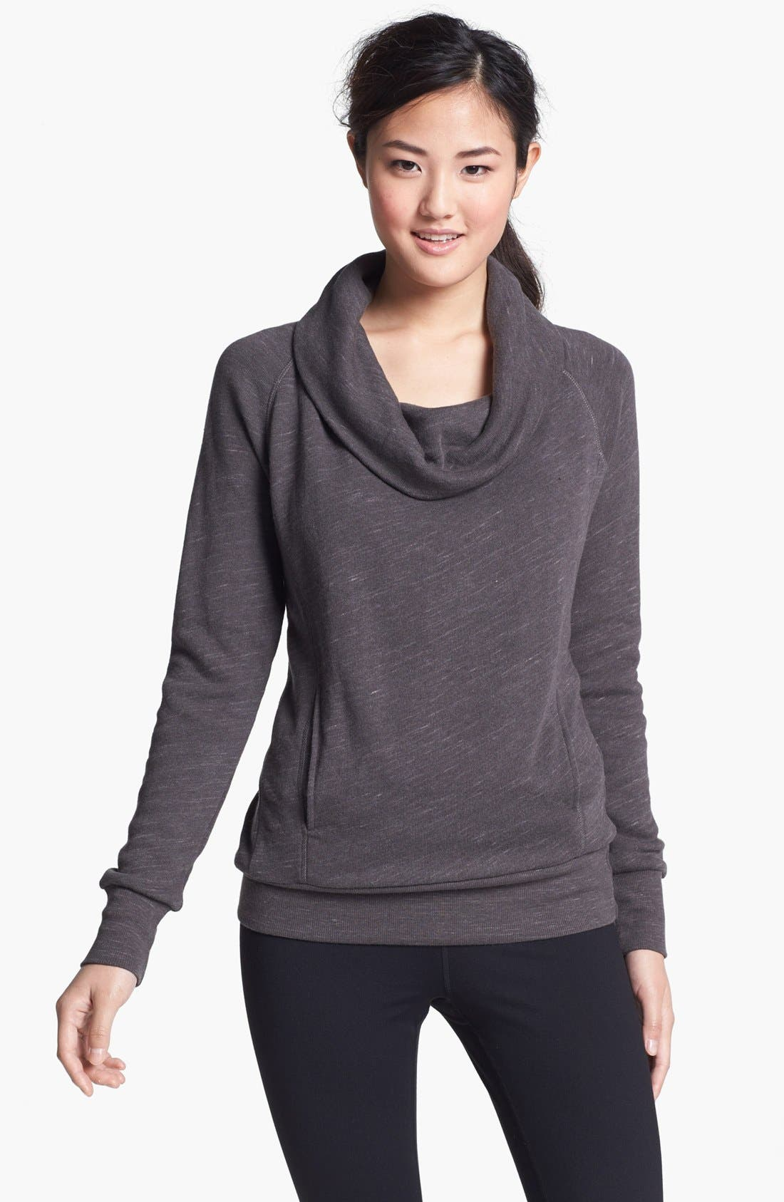 Alternate Image 1 Selected - Alo Long Sleeve Cowl Neck Top