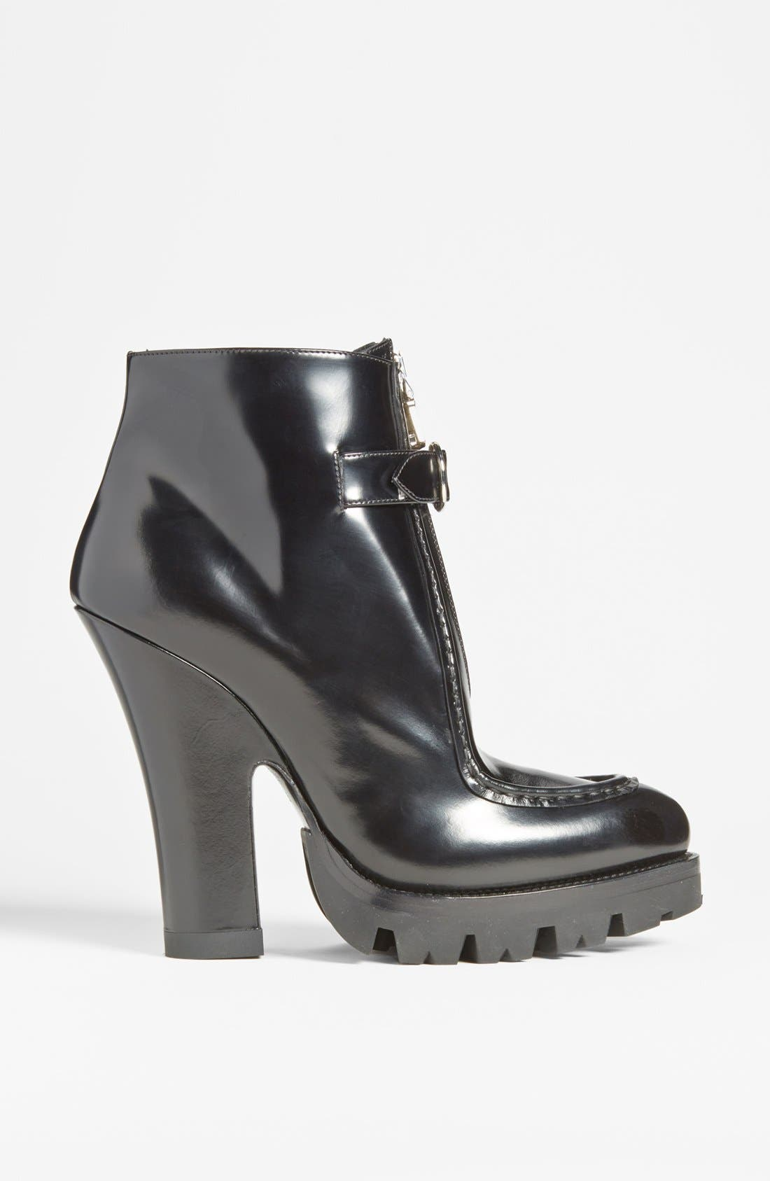 Alternate Image 4  - Prada Front Zip Lug Sole Bootie