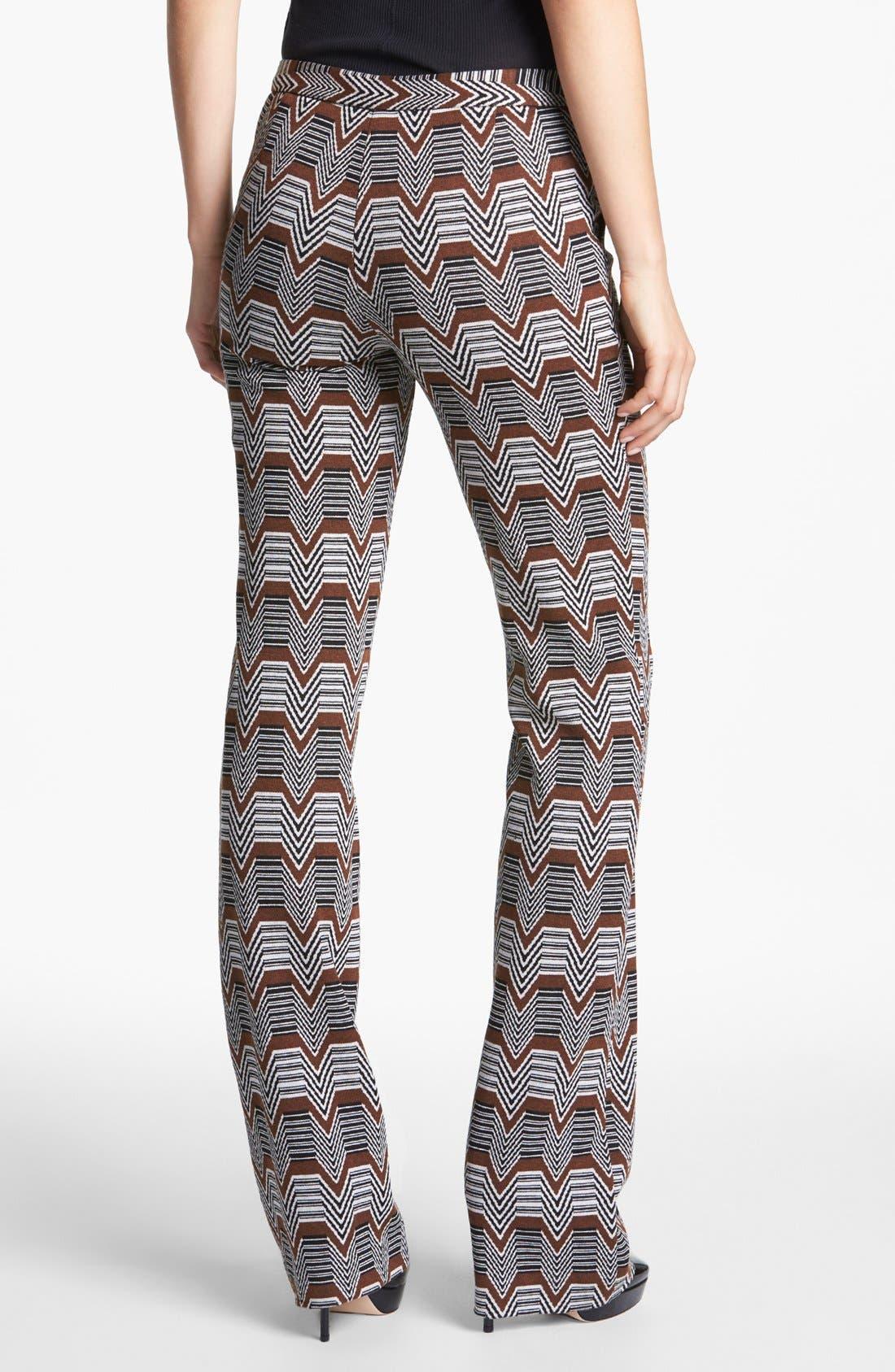 Alternate Image 2  - Trina Turk 'Rocco' Jacquard Pants