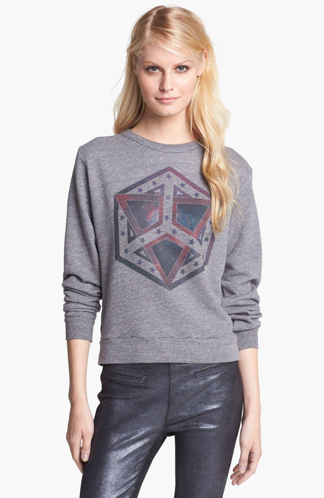 Alternate Image 1 Selected - Rebecca Minkoff Graphic Sweatshirt
