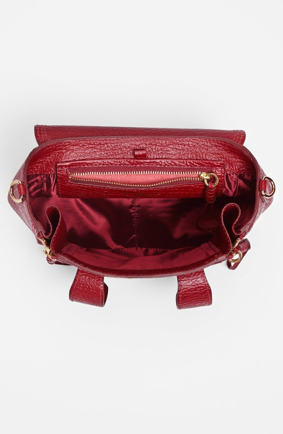 Alternate Image 2  - 3.1 Phillip Lim 'Mini Pashli' Shark Embossed Leather Satchel