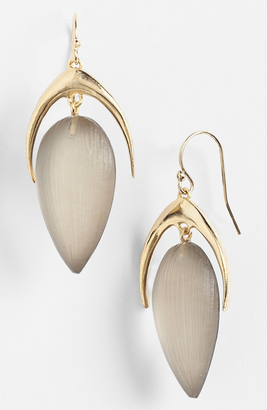 Alternate Image 1 Selected - Alexis Bittar 'Lucite® - Neo Bohemian' Crescent Drop Earrings