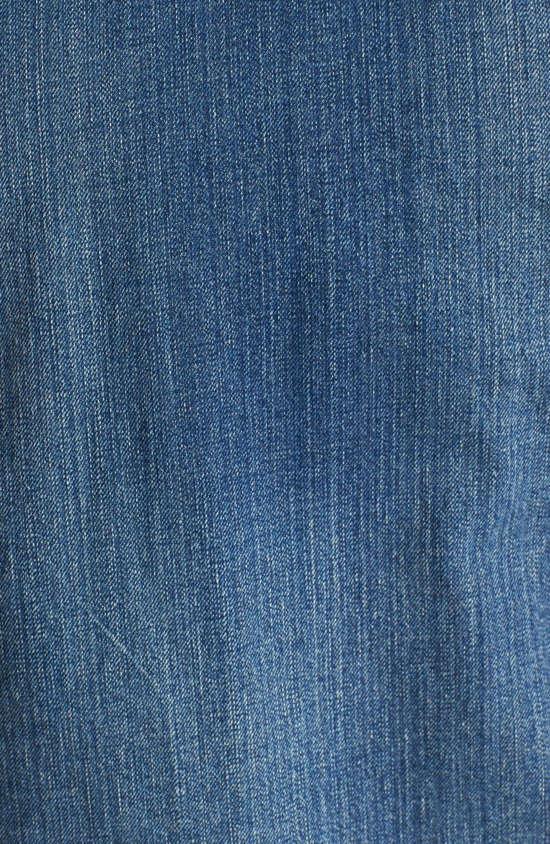 Alternate Image 3  - Scotch & Soda Denim Jacket with Leather Sleeves