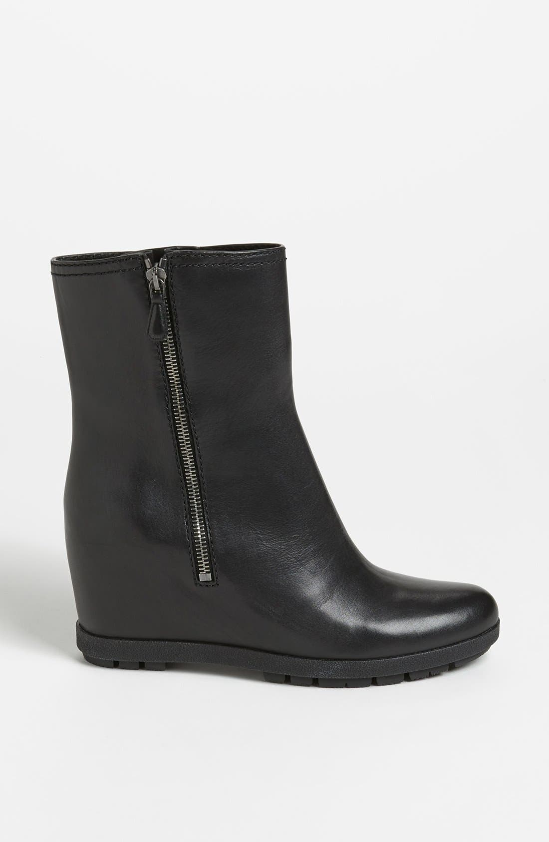 Alternate Image 4  - Prada Wedge Ankle Boot