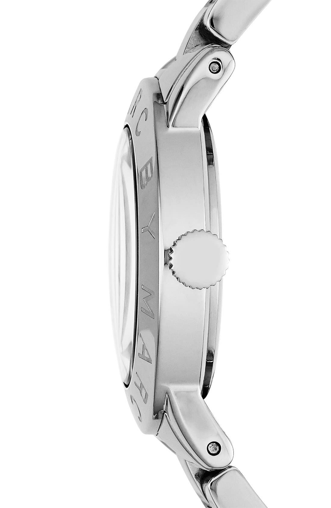 Alternate Image 3  - MARC JACOBS 'Amy' Mother-of-Pearl Dial Watch, 37mm