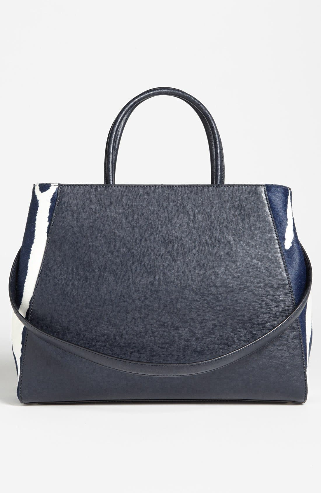 Alternate Image 4  - Fendi '2Jours - Medium' Calf Hair Shopper